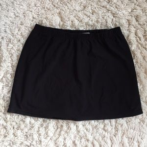 Black Nike Tennis Skirt